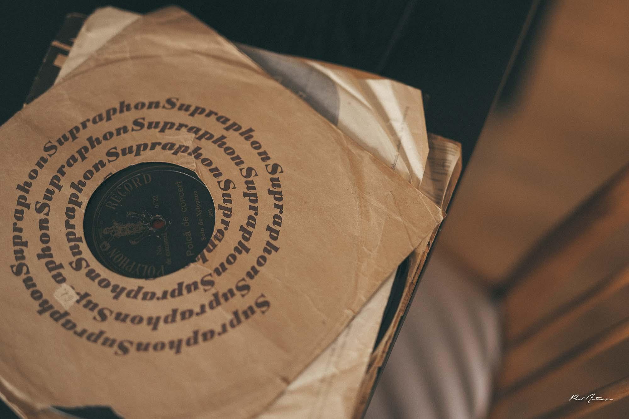 vinyl, paul antonescu, disc